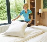 Ferienhaus-Service mit gemachte Betten bei Ankunft