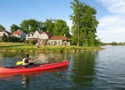 sports nautiques lac
