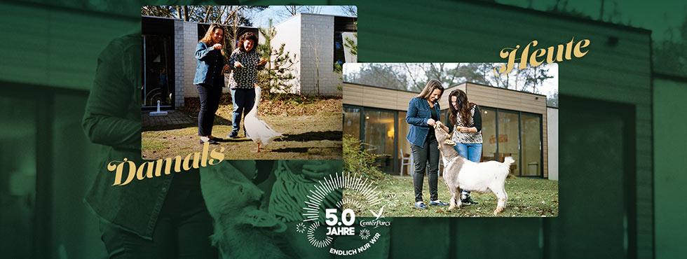 Center Parcs 50 Jahre
