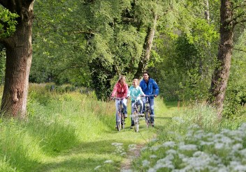 Fahrradrouten in Noord-Brabant, ausgehend von De Kempervennen