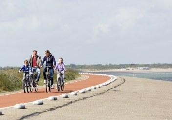 Fietsroutes door Zeeland en Zuid-Holland, vanuit Port Zélande