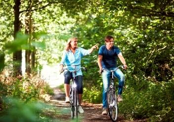 Fahrradrouten in Drente