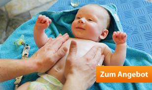 Frühbucher-Rabatt mit baby