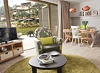 De cottages en appartementen van Villages Nature® Paris