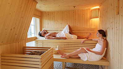 sauna deep nature