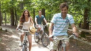 vélo entre amis