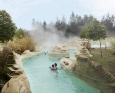 Aqua Mundo et rivière sauvage à Center Parcs