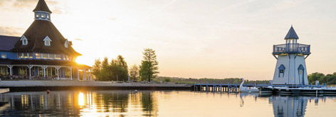 Lac d'Ailette en Picardie