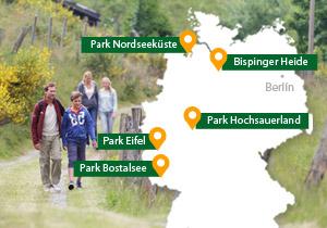 Vakantieparken Duitsland