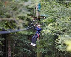 Abenteuerparcours für Kinder