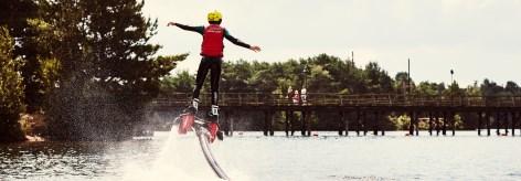 Faire le waterski  dans de Vossemeren