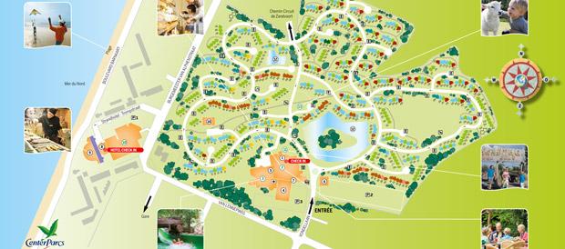 Vakantiepark park zandvoort zandvoort center parcs for Port zelande map
