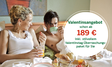 Der Valentinstag bei Center Parcs