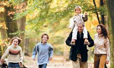 Herbstferien in Les Trois Forêts