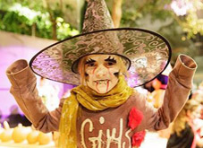 Halloween, ein supergruseliges Familienfest
