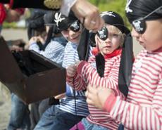Kid's Adventure Pirat: Kinder werden Piraten!