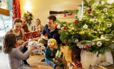 Familienurlaub über Weihnachten