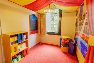 Speciaal ingerichte speelkamer voor kinderen