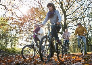 Huur een fiets en trek de natuur in