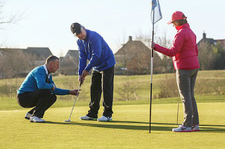 Leren golfen bij Center Parcs