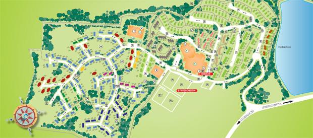 Vakantiepark park eifel gunderath center parcs for Port zelande map