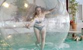 Schwimmbad Sandur