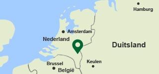 Plattegrond Limburgse Peel