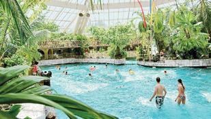 Subtropisch zwembad zwemparadijs aqua mundo center parcs