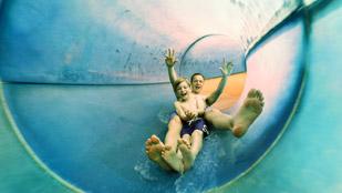 Toboggans aquatiques