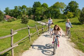 vélo domaine sans voiture