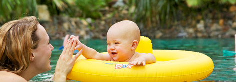 Vacances bébé - premières vacances