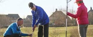 9-holes en 18-holes golfbaan
