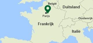 Kaart Villages Nature Paris