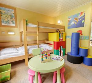 Kinderferienhaus Kinderzimmer