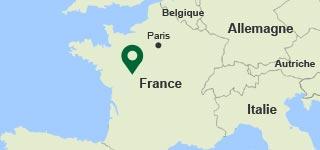 Carte Le Bois aux daims