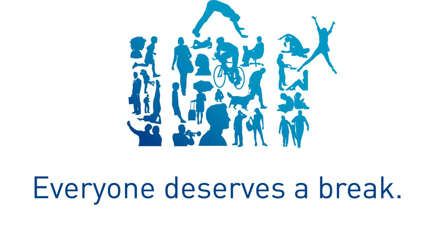 Everyone deservers a break