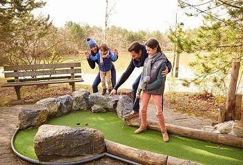 mini golf exterieure