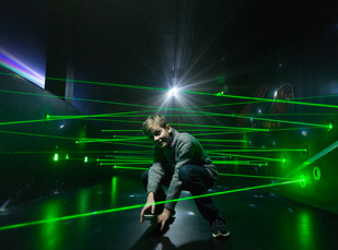 Challenge laser