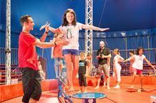 circus teenagers