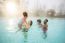 Hiver en famille avec activités