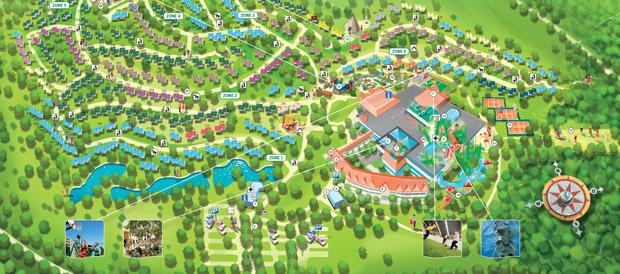 Vakantiepark park hochsauerland medebach center parcs for Port zelande map