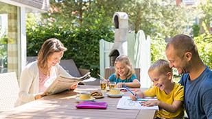 Familienurlaub im deutschen Ferienpark