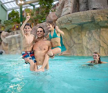 Schwimmbad Aqua Mundo als Inklusivleistung