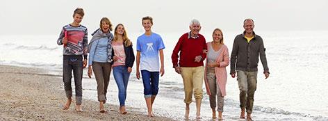 Familienurlaub am Meer in Zandvoort