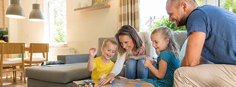 Urlaub mit Kindern im Ferienhaus