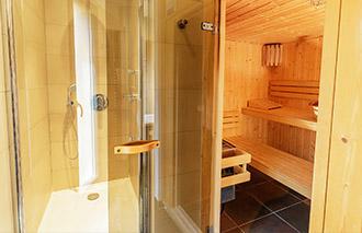 Bungalow met Sauna