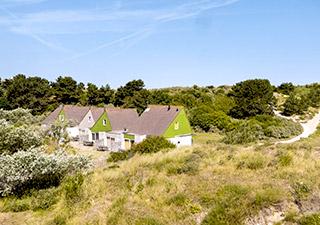 Prachtige cottages in de duinen